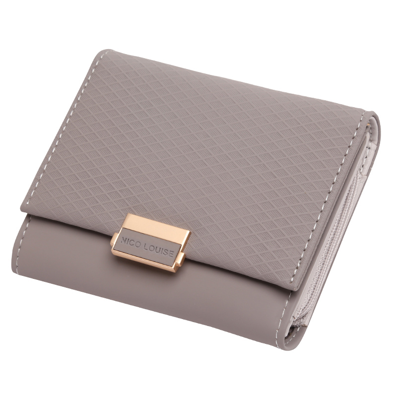 5950da6c2ac Online Shop 2018 Luxury Wallet Female Leather Women Leather Purse Plaid  Wallet Ladies Hot Change Card Holder Coin Small Purses For Girls |  Aliexpress Mobile