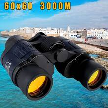 лучшая цена New 60X60 Optical Telescope Night Vision Binoculars High Clarity 3000M Waterproof High Power Definition Outdoor Hunting