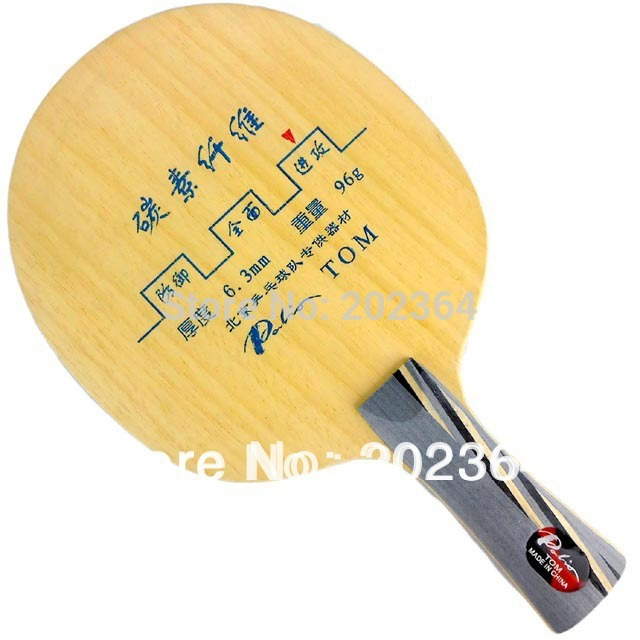 Palio TOM Offensive Table Tennis Blade for PingPong Racket [playa pingpong] palio v 1 v1 v 1 7 wood 4 carbon table tennis blade for pingpong racket