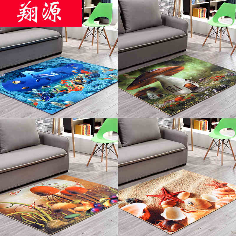 60cm 90cm 2016 new 3d printing hallway carpets bedroom for Living room bedroom bathroom kitchen