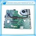 Para asus x75vc placa madre del ordenador portátil con cpu 4 gb 60nb0240 i3-2370m x75vb rev: 3.0 100% probado antes de enviar