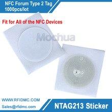 label-1000pcs NFC tüm RFID