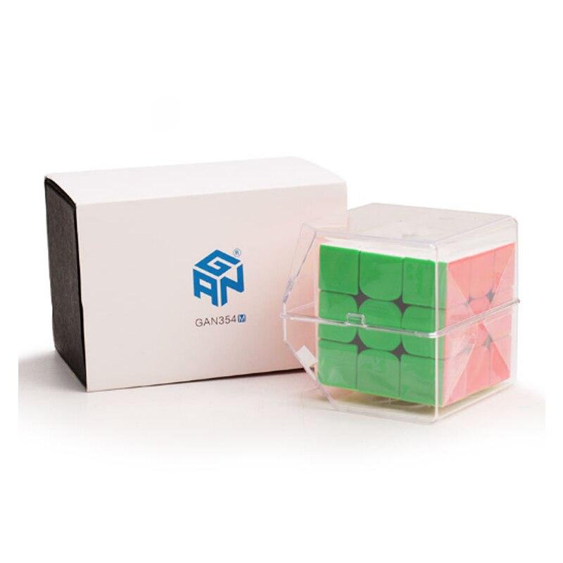 Gan 54 MM longueur compétition éducatif apprentissage 3x3x3 vitesse Puzzle Cube Gan 3x3x3 défi vitesse Puzzle Cube Magico Cubo jouets - 2