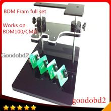 BDM Frame With Aapters Works For BDM Programmer/CMD 100 Full Sets Fits For FGtech Galetto bdm100 use for ktag k-tag ECU  tool