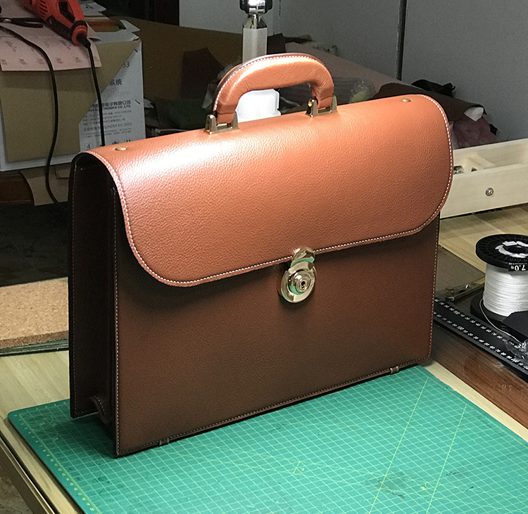 1set Leather Pattern Stencil Template Men's Business Bag Briefcase Tote Hand bag Acrylic Leather Sewing Pattern