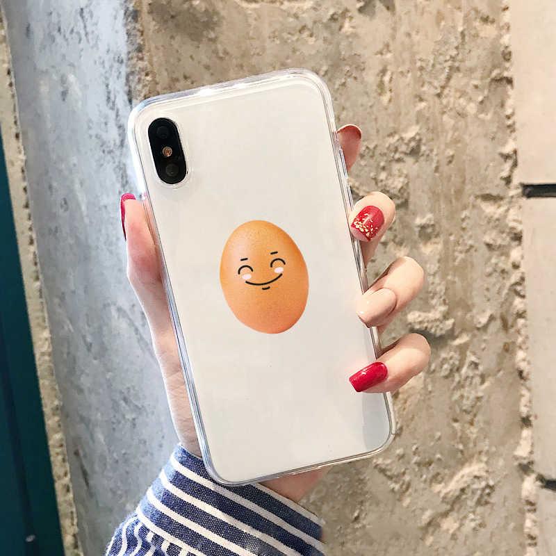 Kylie jenner vs ovo Transparente caso soft phone para iPhone 6 6s 7 8 mais Como O Ovo Mais gostava de caso para samsung s7 s8 s9 mais
