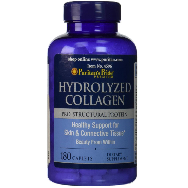 Hydrolyzed Collagen 1000 mg-180 Caplets free shipping oystercal d 500 mg compare and save 250 caplets free shipping
