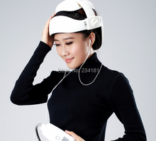 Multifunctional head massager to alleviate fatigue music kneading vibration massage the neck to relax