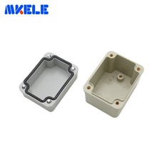 1 Piece M3 Waterproof Junction Boxes Connection Outdoor Electrical Enclosure Case Wiring Connection Box Gray Cover
