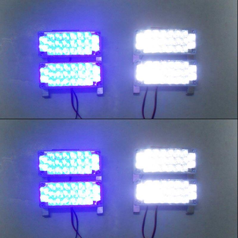 все цены на  FUGSAME Car led Strobe Light Flash Warning EMS Police Truck Firemen Lamp 8*22 LED parking Red Blue White Green Amber Yellow  онлайн