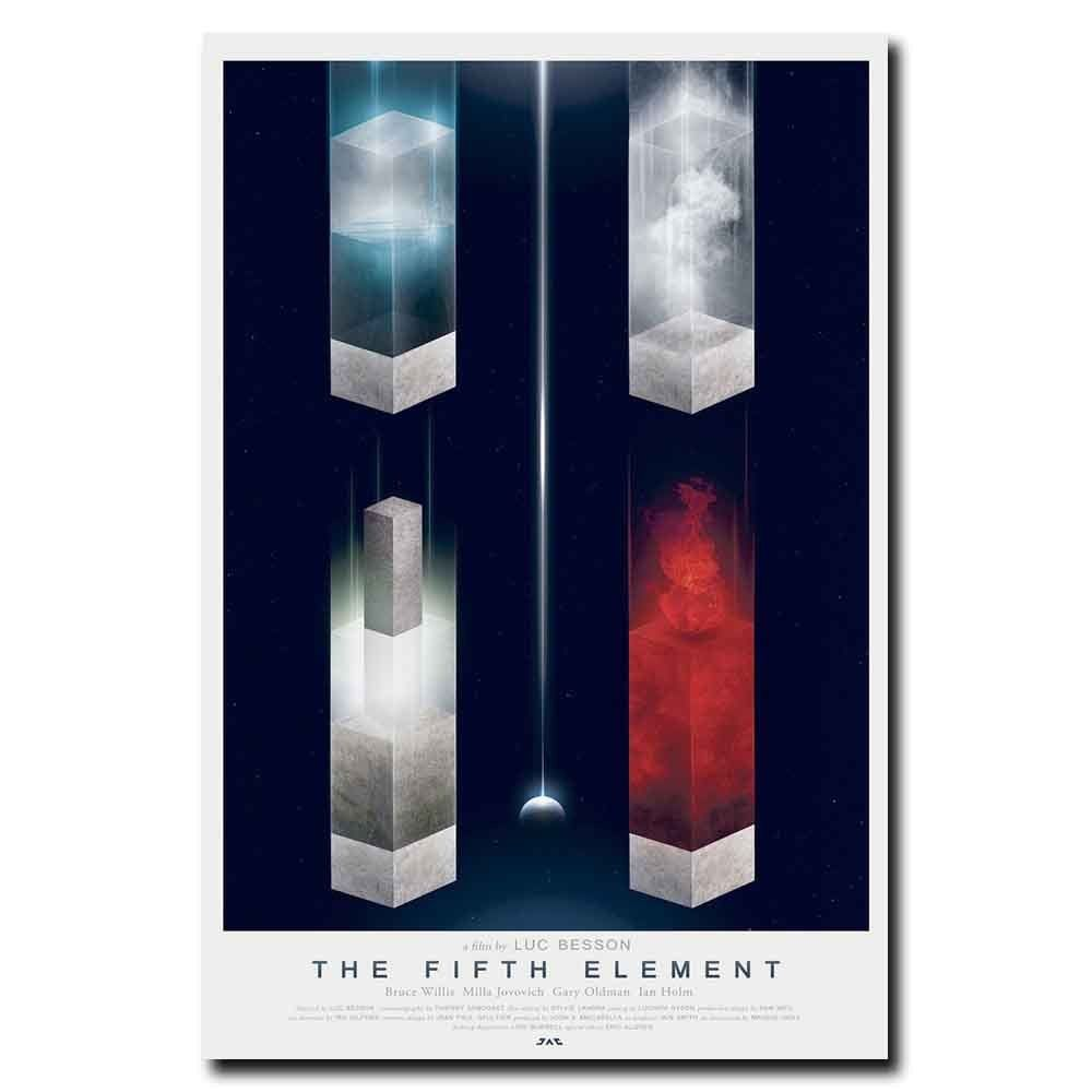 The Fifth Element Film Movie Silk Canvas Poster 13x20 24x36 inch
