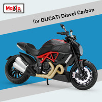 Maisto 1:12 for DUCATI Motocross Model for Ducati Diavel Carbon Diecast Motorcycle Scooter Motorbike Simulated Auto Moblie Model