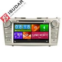 Isudar Автомагнитола с Сенсорным 7 Дюймовым Экраном Для Автомобилей TOYOTA/CAMRY 2007 2011 с Встроенным Микрофоном Bluetooth Wifi