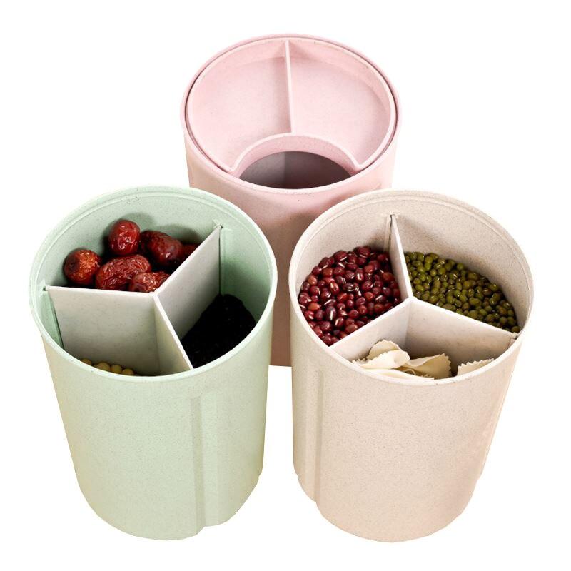Noodle Storage Bottle Jar Grains Goods Candy Dispenser Sealed Cans Kitchen Home Organization Container Wholesale Bulk Lots Stuff