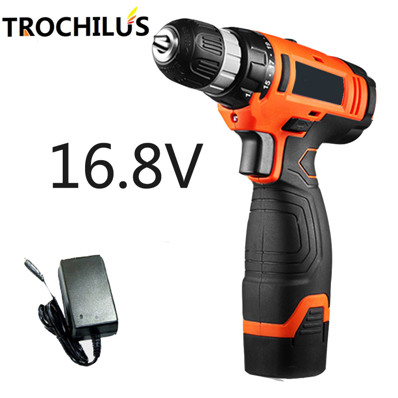 16.8V power tools miniature electric drill multi-function cordless drill and lithium battery mini electric screwdriver 220v electric drill power tools