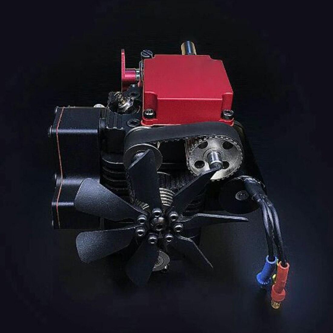 Quatre temps méthanol modèle moteur (sans démarrage moteur) vapeur éducation bricolage modèle jouet cadeau pour enfants artisanat ornement-FS-S100
