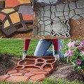 Jardim ferramentas de molde para o concreto De Pedra DIY molde plástico caminhos para jardim/pavimentação de molde/pathmate pá