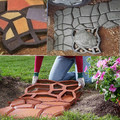 garden tools mold for concrete DIY Stone plastic mold pathways for  garden / paving mold/pathmate shovel