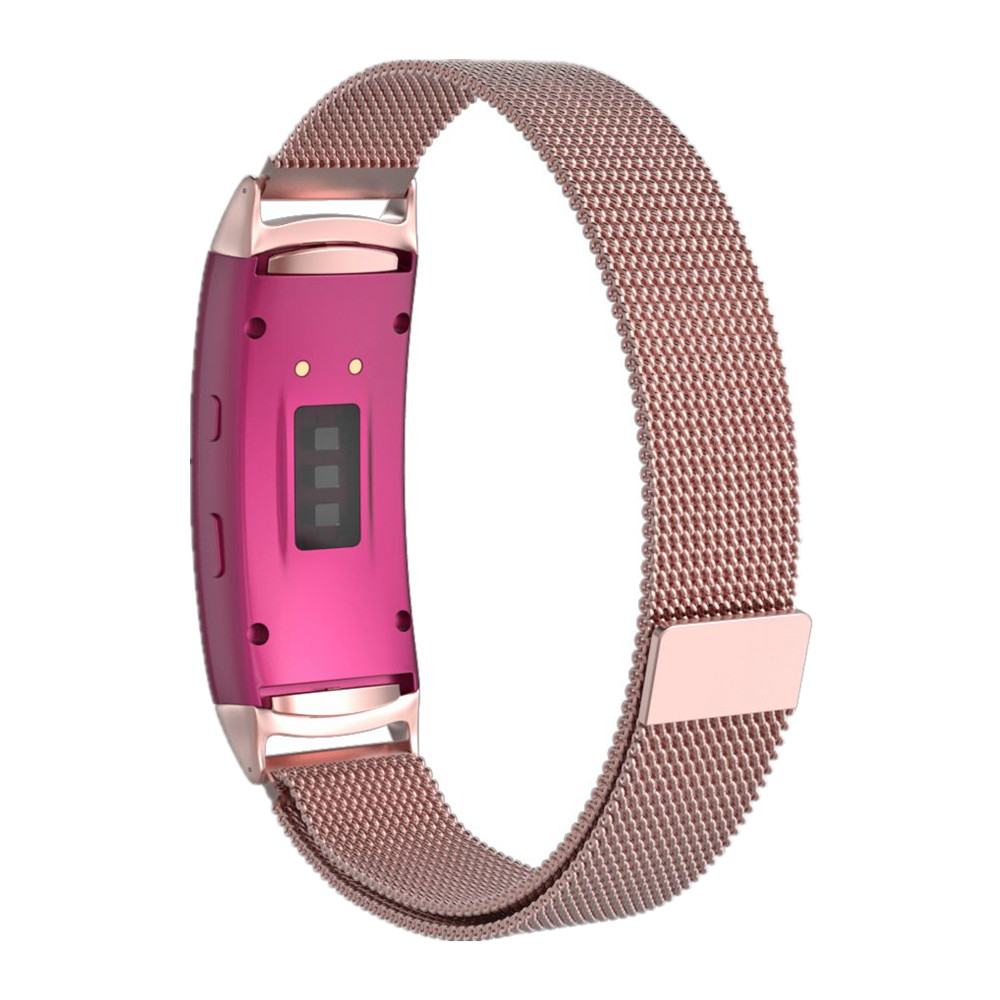 Smart Watch Band Stainless Steel Magnetic Loop Milanese Wrist Bands Bracelet Strap For Samsung Gear fit 2 SM-R360