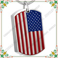 CMJ8461 Unique 316L Cremation Memorial Jewelry American flag print ashes tags pendants stainless