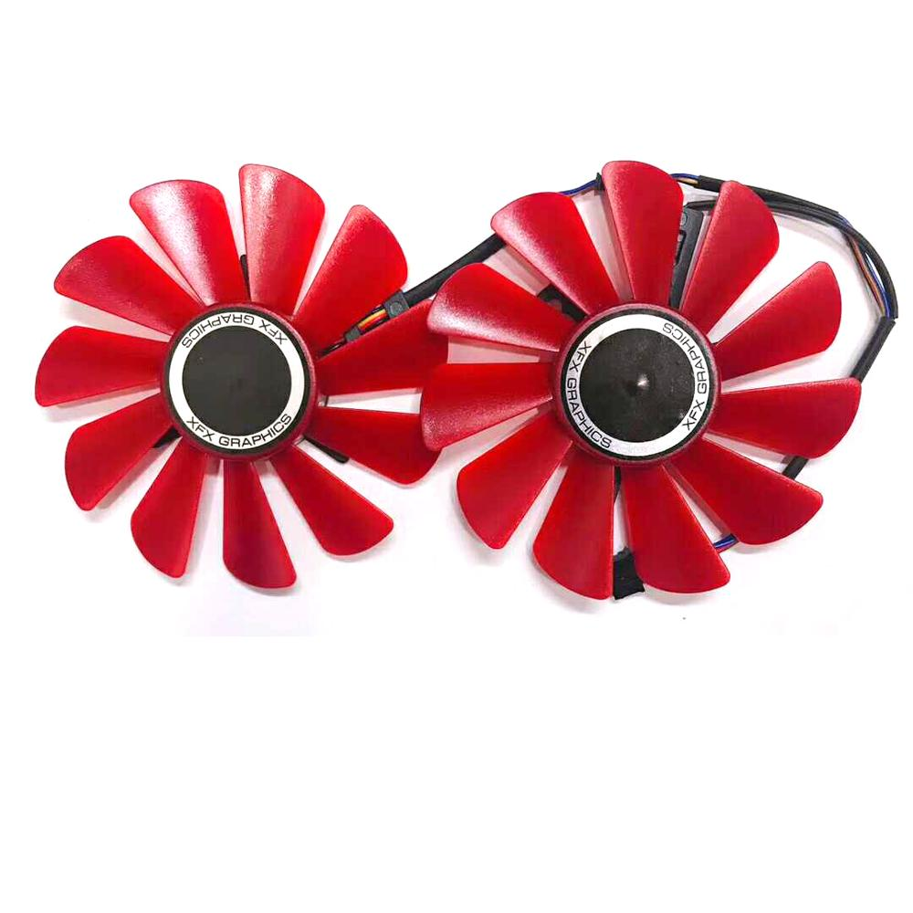 GRAB FAST] New 85MM FDC10U12S9-C Cooler Fan Replace For HIS XFX RX