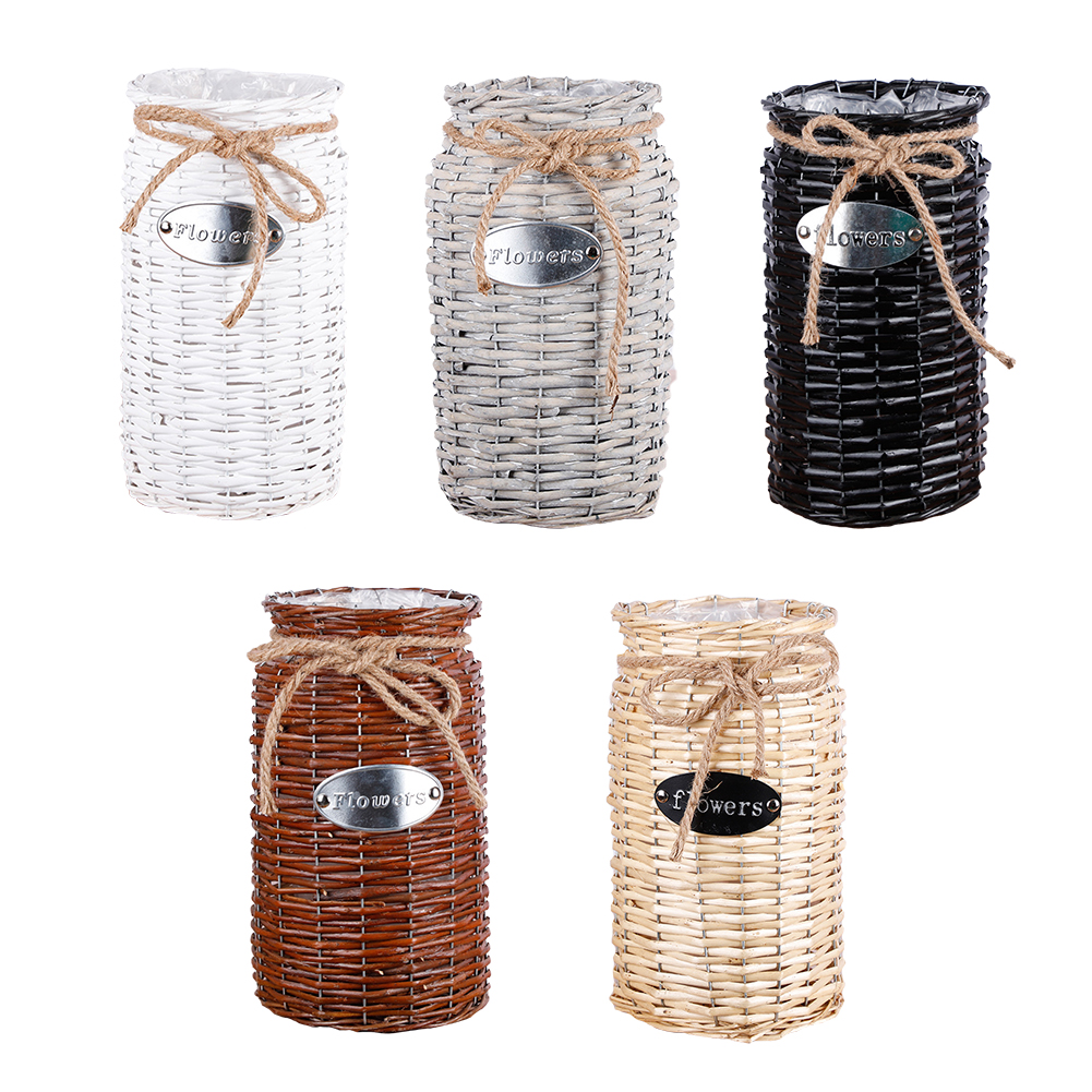 2019 New Wicker High Floor Vase
