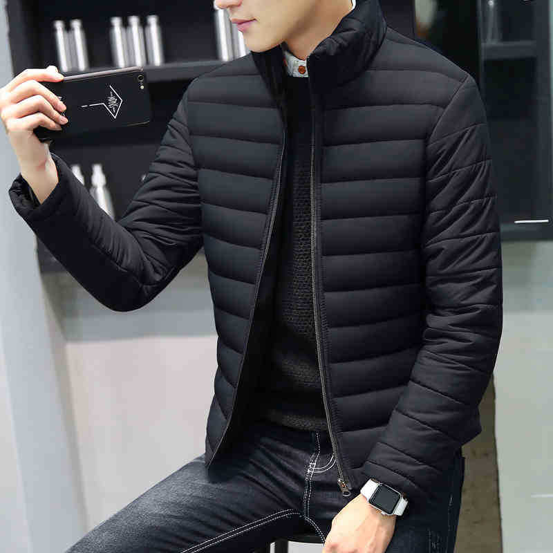 Jackets and Coats 2018 Casual Winter Jackets Men Mens Thick   Parka   Men Outwear Plus Size 5XL Jacket Male Clothing Clothes Tops