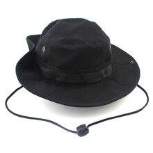 Унисекс Бонни шляпы высокое качество Кепка, рыбак шляпа Военная джунгли Кепка Повседневные шапки
