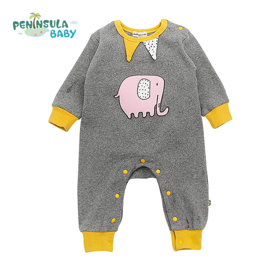 Baby Boy Animal Costume Baby Rompers Newborn Cotton One Piece Clothes Boys Girls Long Sleeve Infant Jumpsuit Spring Autumn 2016 autumn newborn baby rompers fashion cotton infant jumpsuit long sleeve girl boys rompers costumes baby clothes