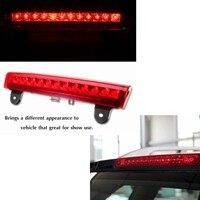1PCS LED Car Red Rear Roof 3rd Third Brake LED Light Side For Lamp 2000 2006