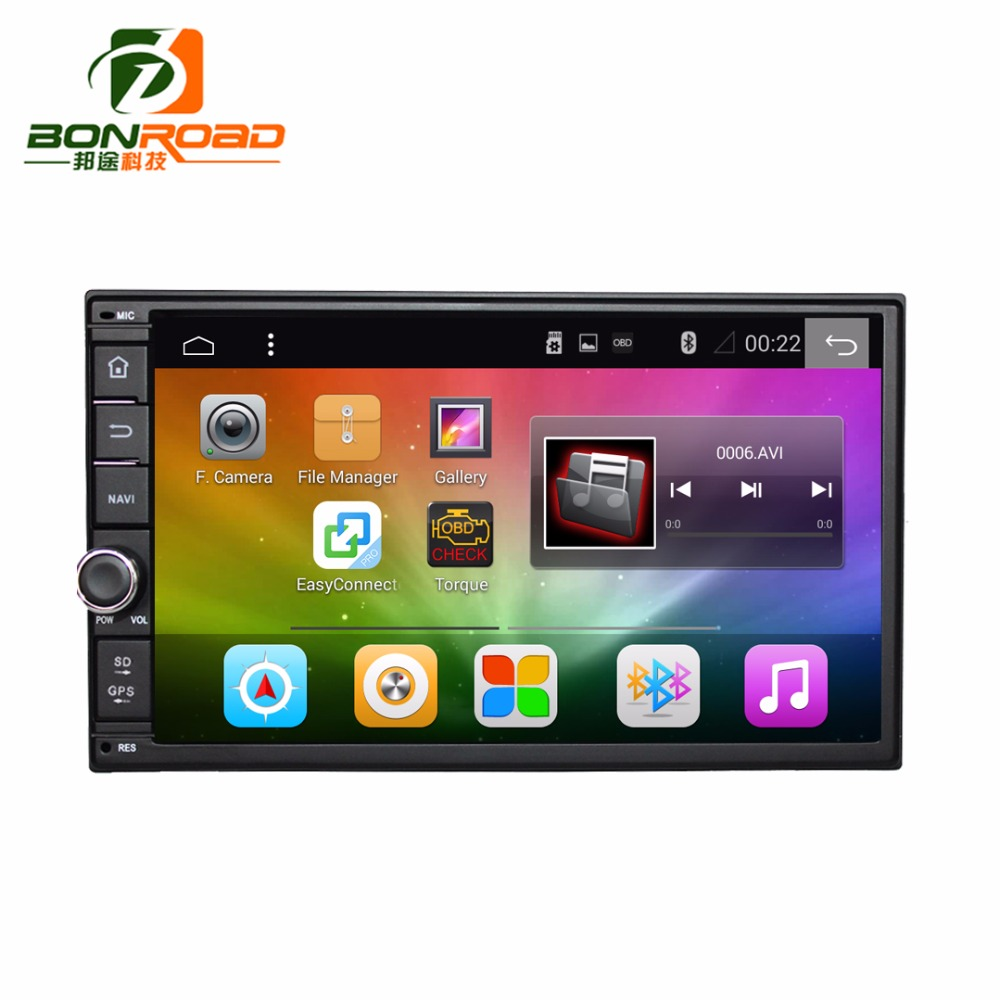 Bonroad 7 2Din 1024 600 Android 6 0 Ram 2G Car Stereo PC Tablet Universal For