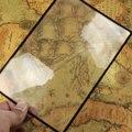 Lesen Glas Objektiv Buch Seite Vergrößerung X3 180X120mm Bequem A5 Flache PVC Lupe Blatt Vergrößerungs-in Lupen aus Werkzeug bei