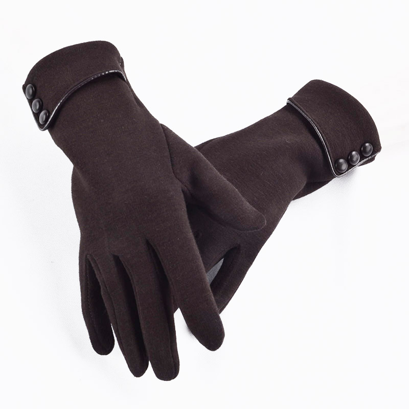 Moisture Absorbing Touch Screen for Women Gloves with Good Elastic and Windproof Property Suitable for Outdoor Cycling and Hiking in Winter 4