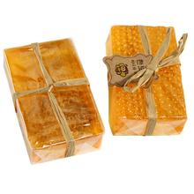 100 HandMade Soap Whitening Peeling Glutathione Arbutin Honey Kojic acid Soap Skin Care 90g 5JY6