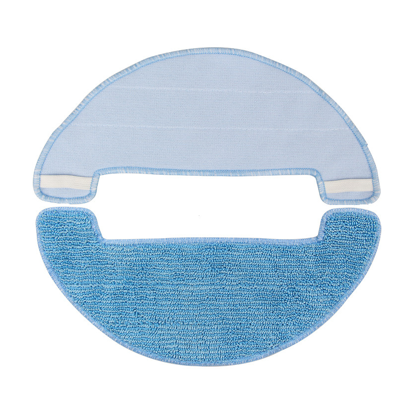 Robotic Vacuum Cleaner Mop Cloth for ilife A40 A4 A4s Dibea D960 polaris 726 Robot Vacuum Cleaner Parts Accessories(China)