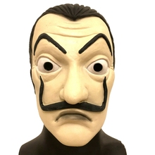 La Casa De Papel Mask Salvador Dali Latex Cosplay The House of Paper Adult Masks 2018