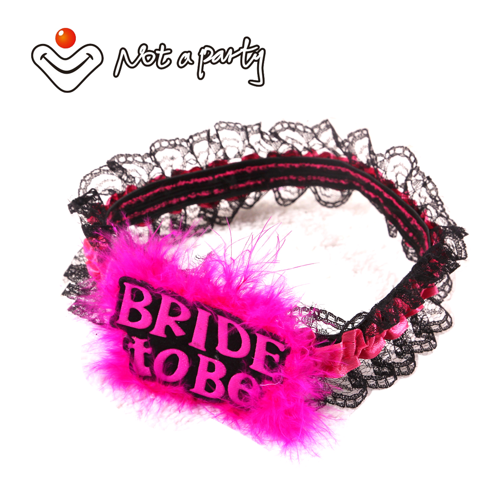 Hot pink team bride to be garter 50% off for 3pcs hen night ...