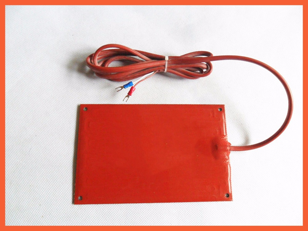 100*100mm 12V 50W Electric Cabinet desiccant Heating Board industrial heater silicone heater pad for Vacuum 5piece 100
