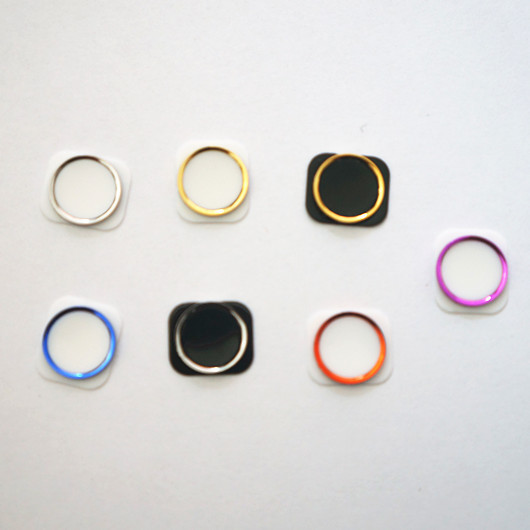 colorful 5s home button for apple iphone 4 4g 4s 5 5c 5s custom home button 5s design in mobile