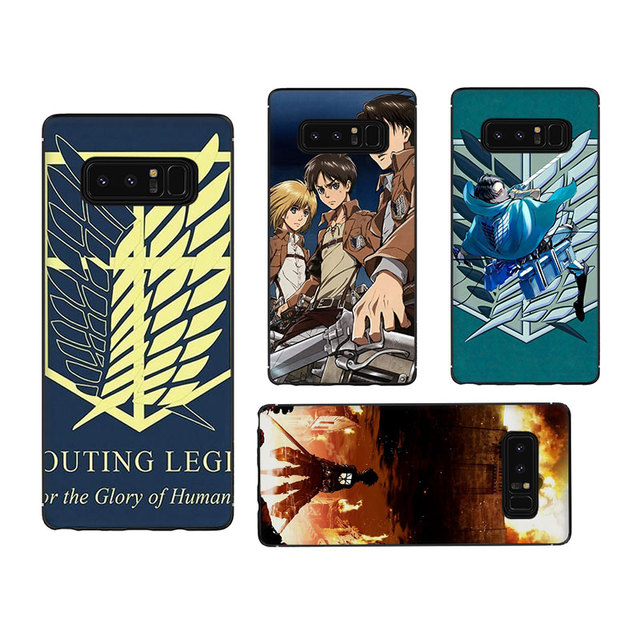 Attack on Titan Cover Case For Samsung Galaxy Series