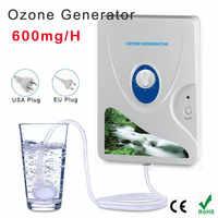 Portátil activo generador de ozono esterilizador purificador de aire de verduras de frutas agua preparación de alimentos ozonizador ionizator