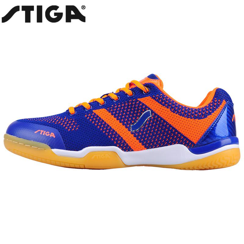 New arrival Stiga Table Tennis Shoes Zapatillas Deportivas Mujer Men women ping pong racket shoe sport