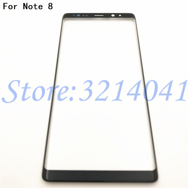 6.3 inches Front glass touch screen For Samsung Galaxy Note8 Note 8 N950 Touch Screen Top Lens LCD Outer Panel