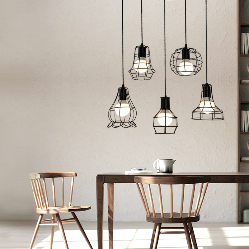 edison bulb lighting fixtures. brilliant bulb aliexpresscom  buy vintage industrial metal cage pendant light hanging lamp  edison bulb lighting fixture new loft lamps for bar bedroom from  for lighting fixtures a