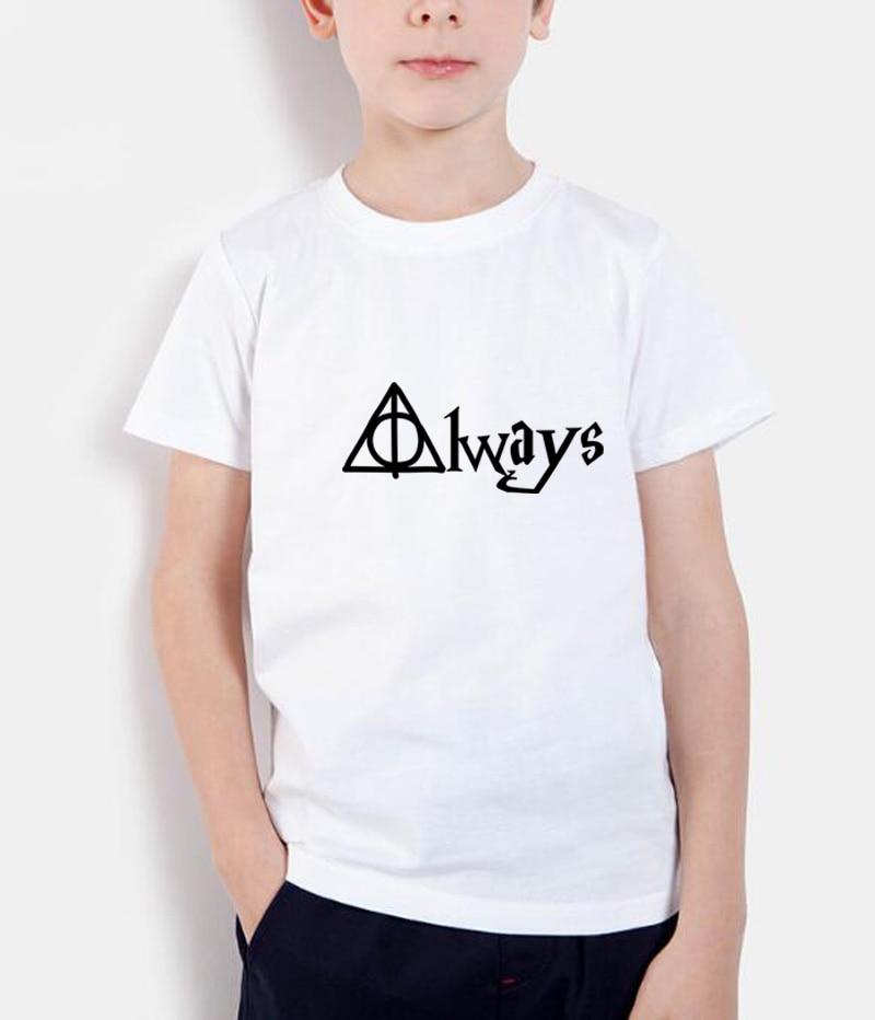 2018 nueva moda verano camisetas niños streetwear tops alwas letra - Ropa de ninos
