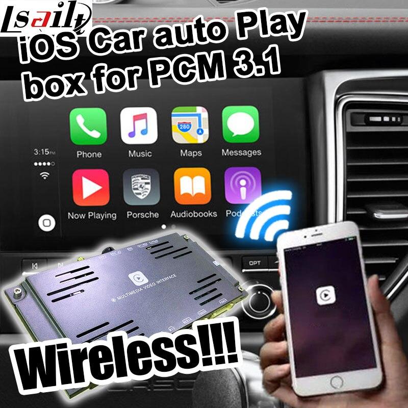 Carro bomba de reprodução automática sem fio caixa para Porsche PCM 3.1 mera 911 etc para carplay na Porsche Cayenne Pana Macan