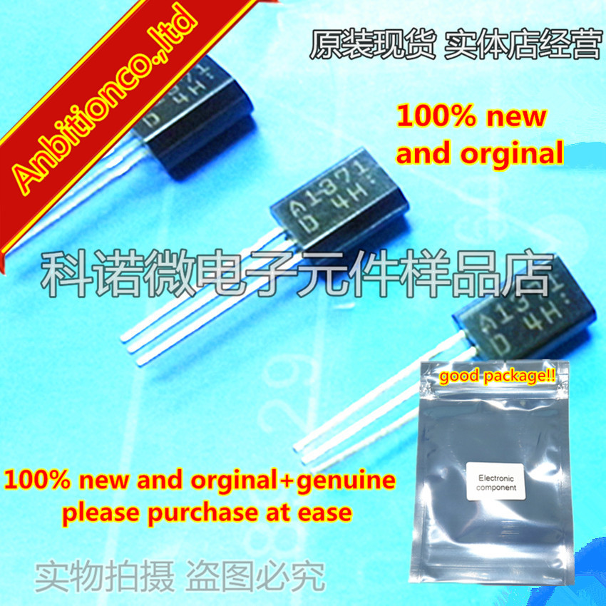 10pcs 100% New And Orginal 2SA1371 A1371 TO-92 High-Definition CRT Display, Video Output Applications In Stock
