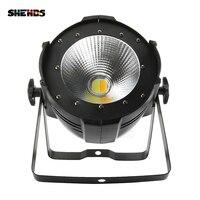 SHEHDS Aluminum Alloy LED Par 200W COB Warm White Cold White 2in1 Stage Lighting LED Par Dj Light DMX Controll