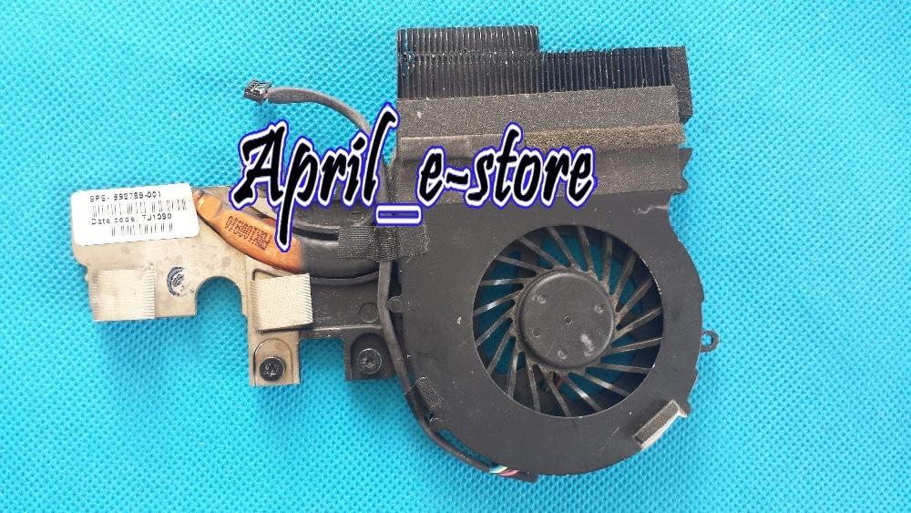 P/N 598789-001 cooler for HP Elitebook 2540 2540P series cpu cooling heatsink with fan Original new for hp pavillion 587244 001 cpu cooling fan with heatsink cooler 587244 001 free shipping