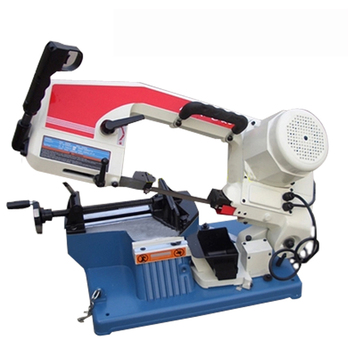 цена на Band Sawing Machine 220V 375W Hand saws Desktop Small Saw Low Noise Sawing Machine With English Manual